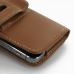 iPhone 5 5s Leather Holster Case (Brown) protective carrying case by PDair