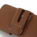 iPhone 5 5s Leather Holster Case (Brown) genuine leather case by PDair