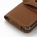 iPhone 5 5s Leather Holster Case (Brown) offers worldwide free shipping by PDair