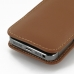 iPhone 5 5s Pouch Case with Belt Clip (Brown) protective carrying case by PDair