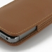 iPhone 5 5s Pouch Case with Belt Clip (Brown) handmade leather case by PDair