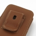 iPhone 5 5s Pouch Case with Belt Clip (Brown) genuine leather case by PDair