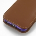 iPhone 5 5s (in Slim Cover) Pouch Clip Case (Brown) protective carrying case by PDair