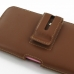 iPhone 6 6s Plus (in Slim Cover) Holster Case (Brown) handmade leather case by PDair
