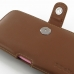 iPhone 6 6s Plus (in Slim Cover) Holster Case (Brown) genuine leather case by PDair
