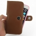 iPhone 6 6s Plus (in Slim Cover) Holster Case (Brown) top quality leather case by PDair