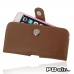 iPhone 6 6s Plus (in Slim Cover) Holster Case (Brown) best cellphone case by PDair
