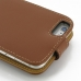 iPhone 6 6s Plus Leather Flip Top Case (Brown) handmade leather case by PDair
