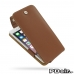 iPhone 6 6s Plus Leather Flip Top Case (Brown) best cellphone case by PDair