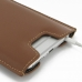 iPhone 6 6s Plus Leather Sleeve (Brown) protective carrying case by PDair