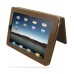 iPad 3G Leather Flip Carry Cover (Brown) top quality leather case by PDair