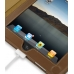 iPad 3G Leather Book Stand Case (Brown) Ver.3 protective carrying case by PDair