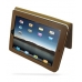 iPad 3G Leather Book Stand Case (Brown) Ver.3 custom degsined carrying case by PDair