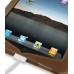 iPad 3G Leather Flip Case (Brown) protective carrying case by PDair