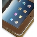 iPad 3G Leather Flip Case (Brown) handmade leather case by PDair