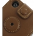 iPhone 3G 3Gs Leather Sleeve Case (Brown) protective carrying case by PDair