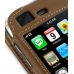 iPhone 3G 3Gs Leather Sleeve Case (Brown) handmade leather case by PDair