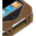 iPhone 3G 3Gs Leather Sleeve Case (Brown) genuine leather case by PDair