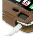 iPhone 3G 3Gs Leather Sleeve Case (Brown) top quality leather case by PDair
