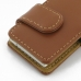 iPod nano 8th / nano 7th Leather Flip Cover (Brown) protective carrying case by PDair