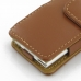 iPod nano 8th / nano 7th Leather Flip Cover (Brown) handmade leather case by PDair
