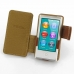 iPod nano 8th / nano 7th Leather Flip Cover (Brown) top quality leather case by PDair