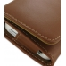 iPhone 4 4s Leather Wallet Case (Brown) handmade leather case by PDair