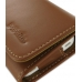 iPhone 4 4s Leather Wallet Case (Brown) genuine leather case by PDair