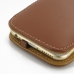 iPhone 6 6s Leather Flip Cover (Brown) handmade leather case by PDair