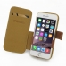 iPhone 6 6s Leather Flip Cover (Brown) top quality leather case by PDair