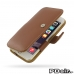 iPhone 6 6s Leather Flip Cover (Brown) best cellphone case by PDair