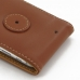 iPhone 6 6s Leather Flip Case (Brown) protective carrying case by PDair
