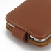 iPhone 6 6s Leather Flip Case (Brown) handmade leather case by PDair