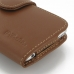 iPhone 6 6s Leather Holster Case (Brown) protective carrying case by PDair