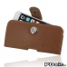 iPhone 6 6s Leather Holster Case (Brown) best cellphone case by PDair