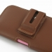 iPhone 6 6s (in Slim Cover) Holster Case (Brown) handmade leather case by PDair