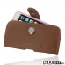 iPhone 6 6s (in Slim Cover) Holster Case (Brown) best cellphone case by PDair