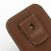 iPhone 6 6s (in Slim Cover) Pouch Clip Case (Brown) top quality leather case by PDair
