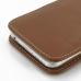 iPhone 6 6s Leather Sleeve Pouch Case (Brown) protective carrying case by PDair