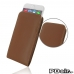 iPhone 6 6s Leather Sleeve Pouch Case (Brown) offers worldwide free shipping by PDair
