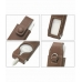 iPod Shuffle Leather Flip Case (Brown) protective carrying case by PDair