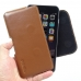 iPhone 6 6s Plus Leather Holster Pouch Case (Brown) genuine leather case by PDair