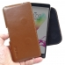 LG G4 Stylus Leather Holster Pouch Case (Brown) genuine leather case by PDair