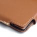 LG G4 Leather Holster Pouch Case (Brown) protective carrying case by PDair