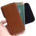 Samsung Galaxy S6 edge+ Plus Leather Holster Pouch Case (Brown) genuine leather case by PDair
