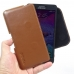 Samsung Galaxy Note 4 Leather Holster Pouch Case (Brown) genuine leather case by PDair