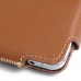 Samsung Galaxy Note 5 Leather Holster Pouch Case (Brown) protective carrying case by PDair