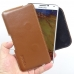 Samsung Galaxy Note 3 Leather Holster Pouch Case (Brown) genuine leather case by PDair