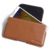 Samsung Galaxy Note 3 Leather Holster Pouch Case (Brown) custom degsined carrying case by PDair