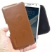 Samsung Galaxy Note 2 Leather Holster Pouch Case (Brown) genuine leather case by PDair